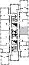Планировка 1-комн. квартиры 44,90 м2