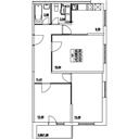 Планировка 3-комн. квартиры 70,12 м2
