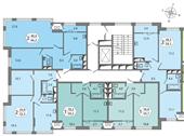 Планировка 2-комн. квартиры 59,12 м2