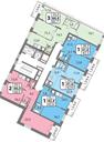 Планировка 1-комн. квартиры 43,90 м2