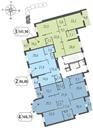 Планировка 2-комн. квартиры 88,10 м2