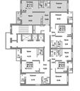 Планировка 2-комн. квартиры 67,50 м2