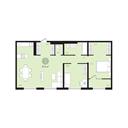 Планировка 2-комн. квартиры 81,40 м2