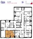 Планировка 1-комн. квартиры 32,70 м2